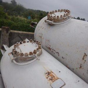 Б/у резервуары для сжиженного газа